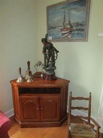 Large antique mariner sculpture