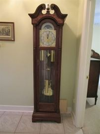 Seth Thomas grandfather clock in running condition