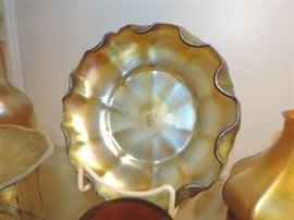 L.C. Tiffany Favrille Bowl - ruffled edge