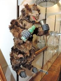 RARE French Automaton  - makes a drink and plays music.