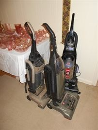 vacuums and depression galss