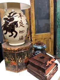 Victorian doors and ethnic items