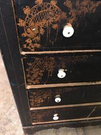 Victorian dresser w original paint