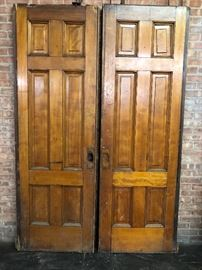 Victorian pocket door