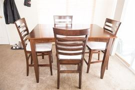 4 Chair Dining Bistro Set