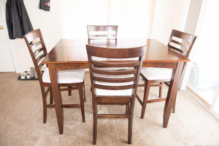 4 Chair Dining Bistro Set