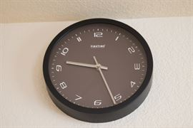 Black FirstTime Wall Clock