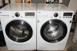 LG Inverter Direct Drive Front Load Washer and Dryer
