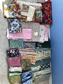 Large selection of nice quilting fabric..... much more than shown!!