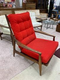 "Milo Baughman Thayer Coggin ""Archie Lounge Chair"""