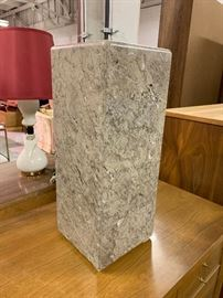 Signed Hugh Acton Mid-Century Marble Art