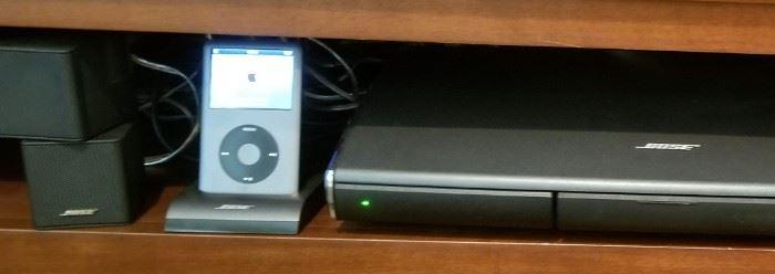 Nice Bose sound system