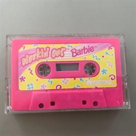 Workin' Out Barbie Cassette Tape