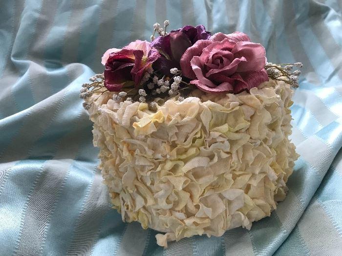 Faux Decorative Cake