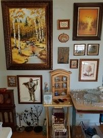 Jewelry trees, boxes and storage.