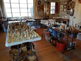 Cherished Teddies, Precious Moments, and many other collectibles.