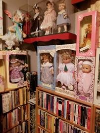 Cabbage Patch doll, Annalee Easter bunny, children's and young adult books,