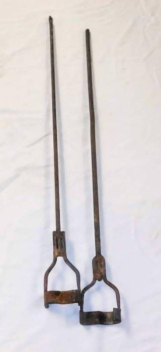 2 3 Branding Irons Rustic Decor