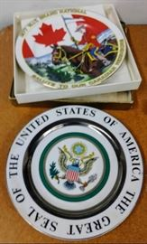 2 Highly Collectible  Commemorative Plates