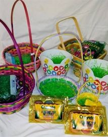 Easter Baskets Grass Included Plus More