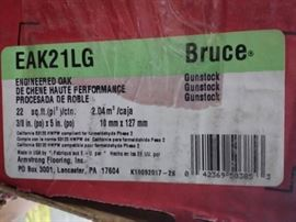 BRUCE OAK GUNSTOCK 5 in. Engineered Hardwood Wid ...