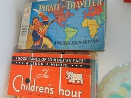 4 Vintage board or Table top Games