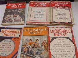 14 Issues of Automobile Digest