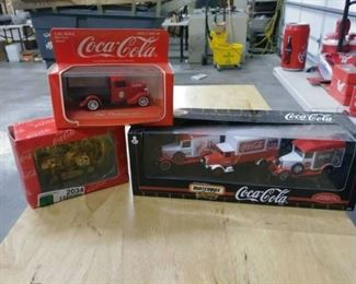 4 Coca Cola Matchbox Collectableslisted in descri ...