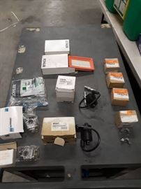Box Of Connectors, Box of Light Bulbs.