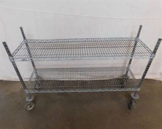 4 Metro Shelf with Casters