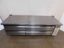 7 Foot SilverKing Refrigerated Chefs Base