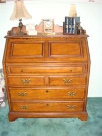 Hammery Hidden Treasures cherry drop front desk