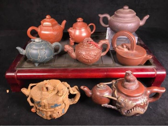 031 Chinese Teapot Collection