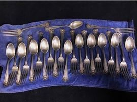 003p JE Caldwell  Sons Sterling Flatware