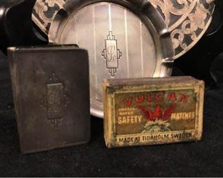 013p Webster Sterling Trivet  Smoking Accessories
