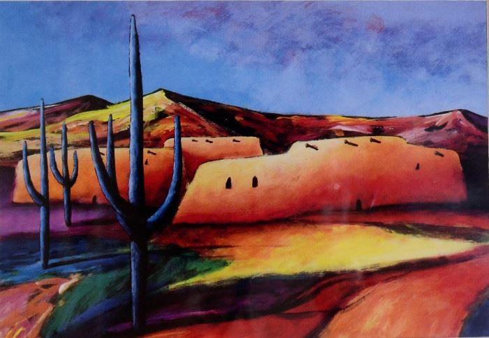 Gorgeous Southwest Art for sale in this home. Love this piece!