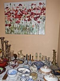 Glassware, Art