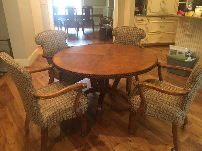 Cnetury Furniture round table with four chairs