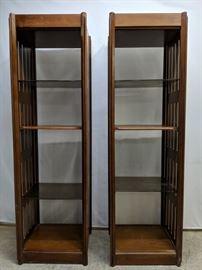 mid century modern book cases
