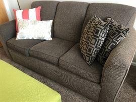 Flexsteel Sofa with inflated air mattress in excellent condition.