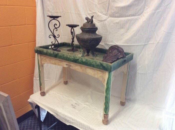 Hand Painted Table  and More