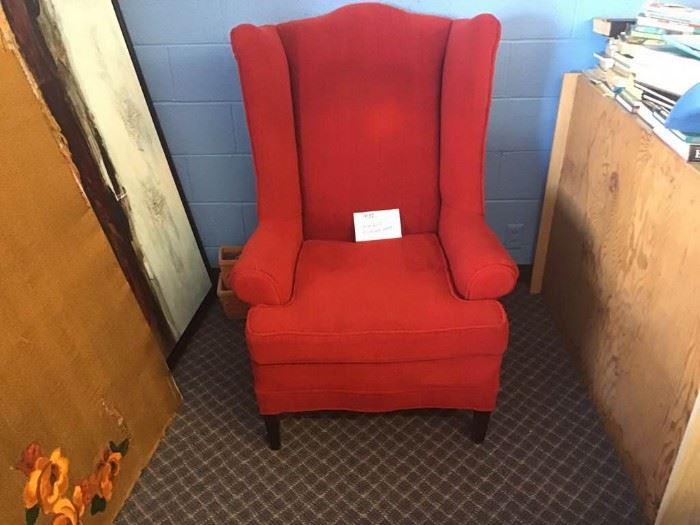 Little Red Sitting Hood