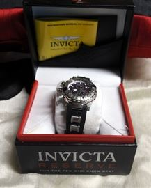 Mens Invicta Reserve Sub Aqua Noma 1 Wrist Watch Model #23585 Includes Presentation Box