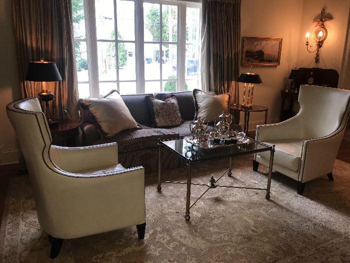 Nancy Corzine sofa