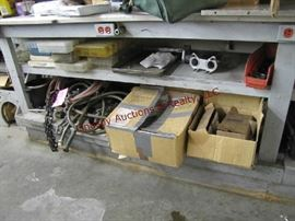 9 - Contents of workbench