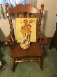 Maple Rocking Chair from Old Hickory company