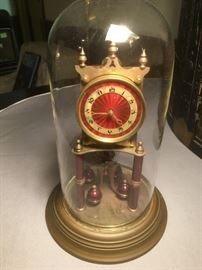 Antique German Kieninger Oberfell Kundo Clock