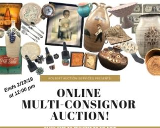 ONLINE AUCTION with end date