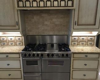 "Five Star Dual Fuel Range with Broiler (48"")"