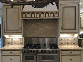"Five Star Dual Fuel Range - Two ovens, griddle, 6 burners, two ovens & broiler.  48"" Vent hood insert also available"